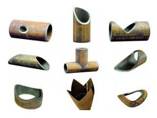 CNC plasma round tube cutting projects