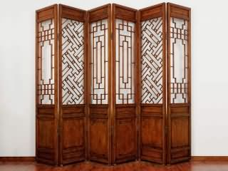 Wooden screen hollow carving projects