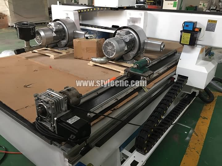 3 heads CNC router machine spare parts