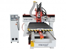 Moving Table CNC Router Machine with Automatic Tool Changer