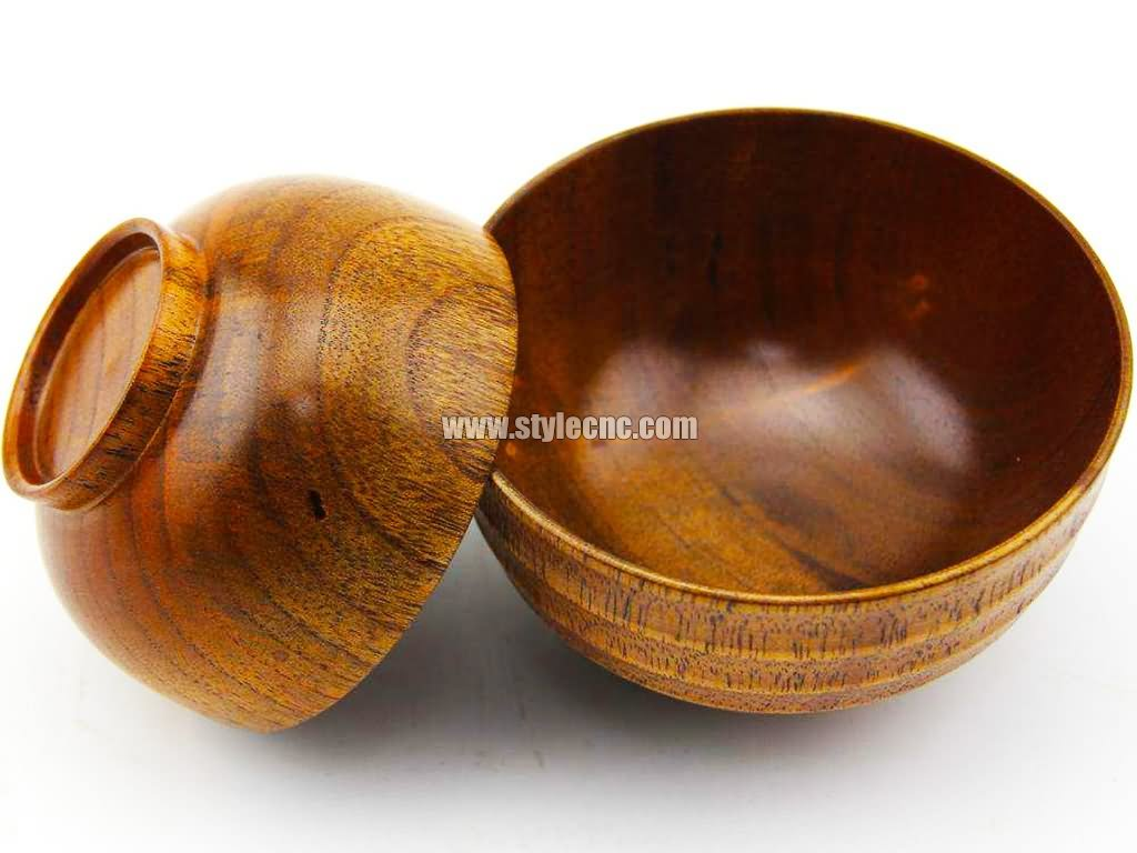 Wood bowl lathe