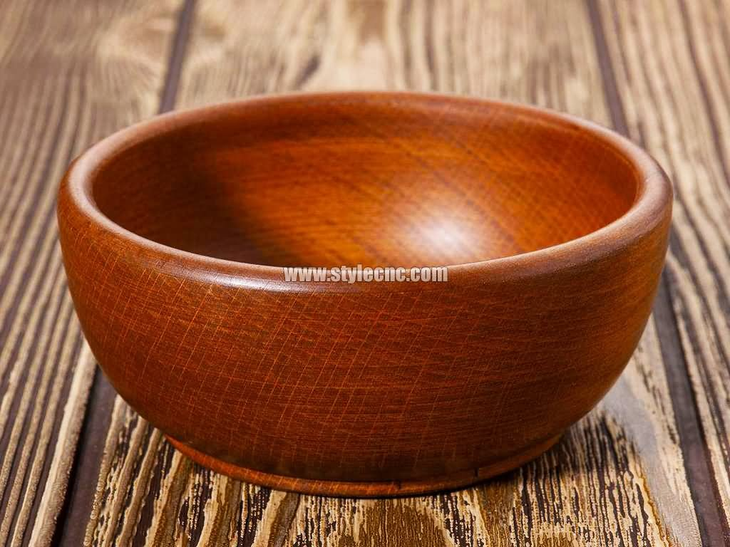 Wooden bowl project