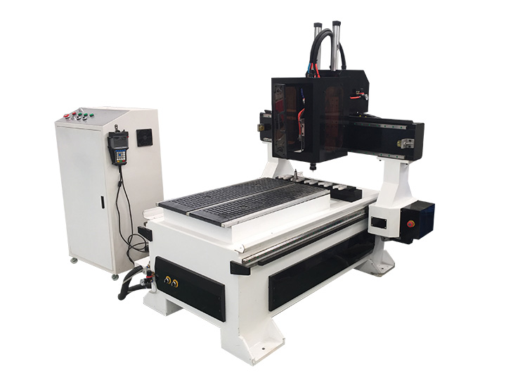 Small CNC Router Machine with Automatic Tool Changer (ATC)