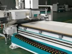 S5 Automatic Nesting CNC Router with 9V+4H drill bank for living room furniture production