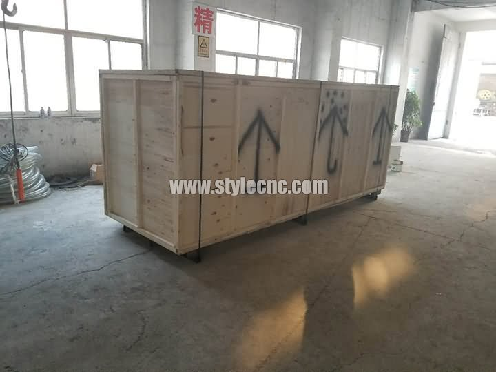 Big size CNC wood lathe package