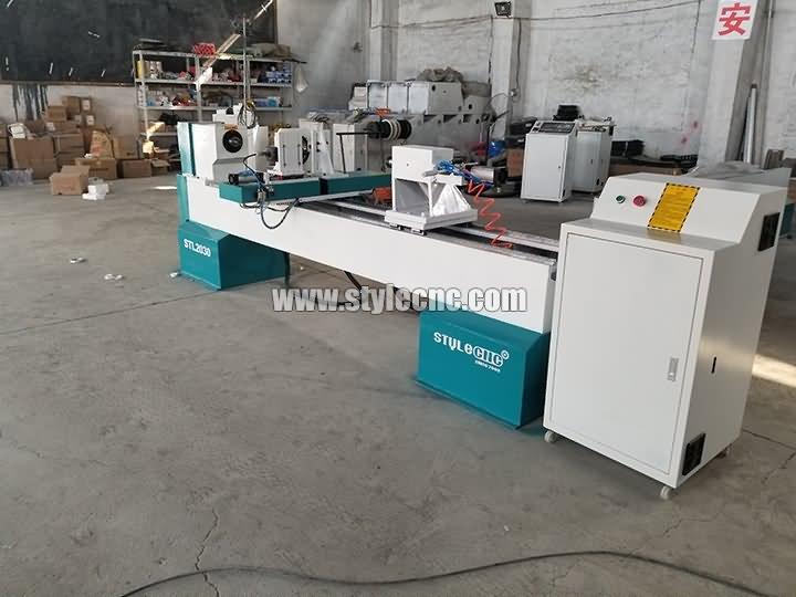 Wood CNC lathe