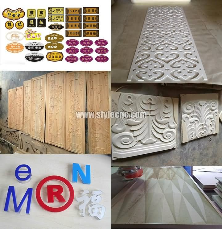 4*8 ft woodworking CNC router