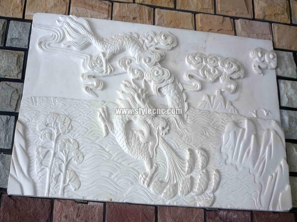 CNC stone carving machine project