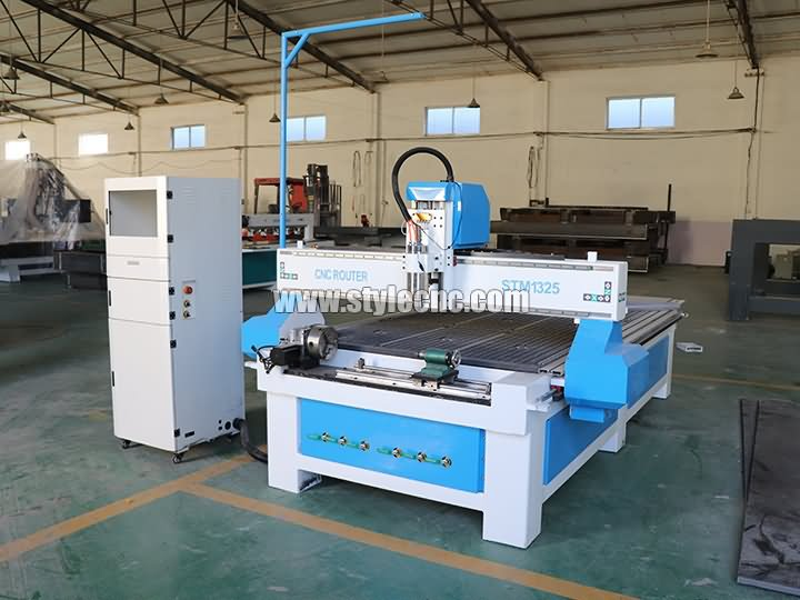 4*8ft CNC router with rotary