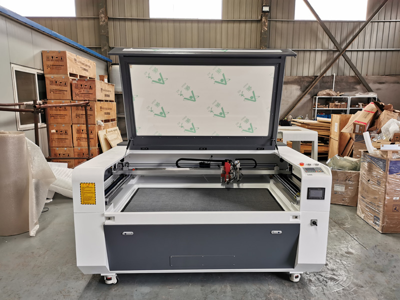 280W mixed metal and nometal laser cutter STJ1390M