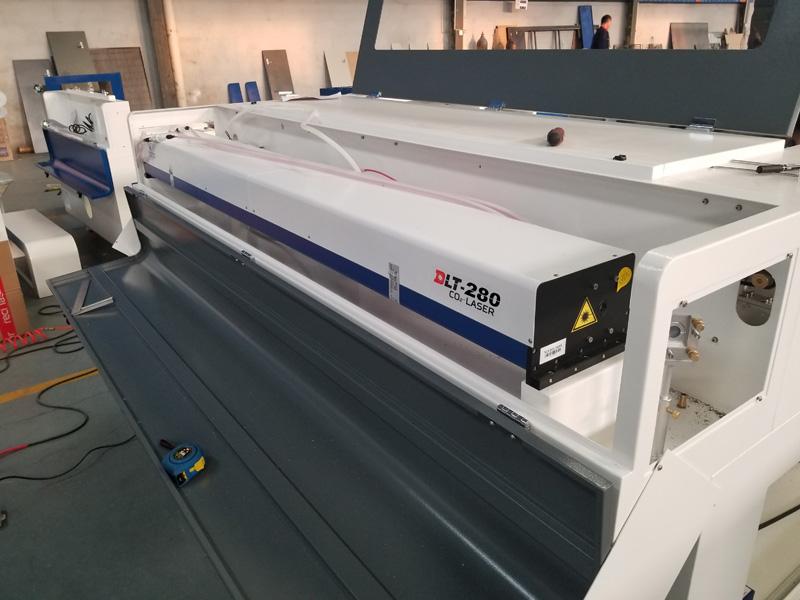 Yongli 280w combining beam laser tube of laser cutter