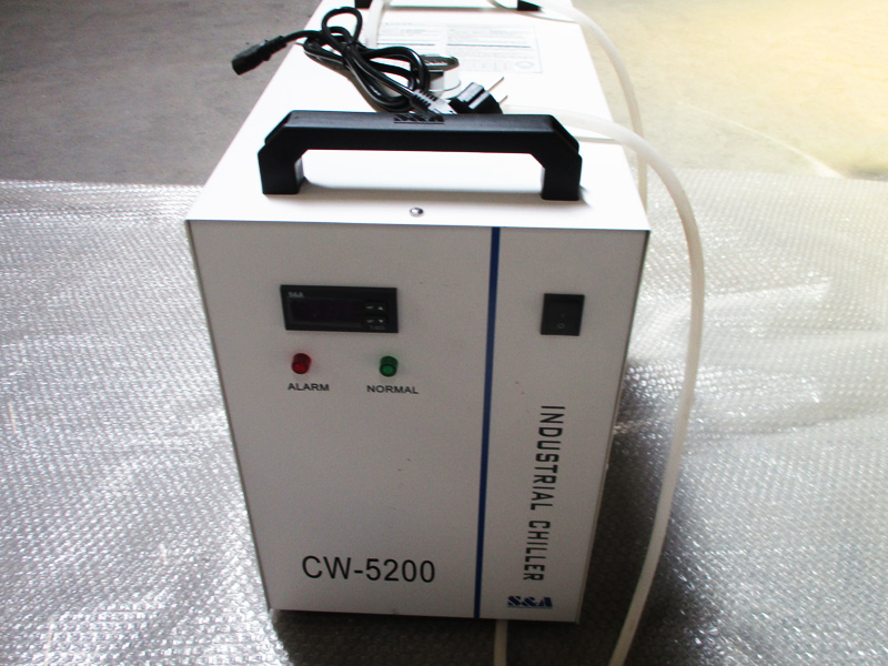 water chiller of CNC 1610 laser cutting systems