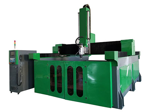 4 axis EPS CNC router machine for aluminium molding