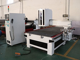Carousel ATC CNC machining center delivery to Mozambique