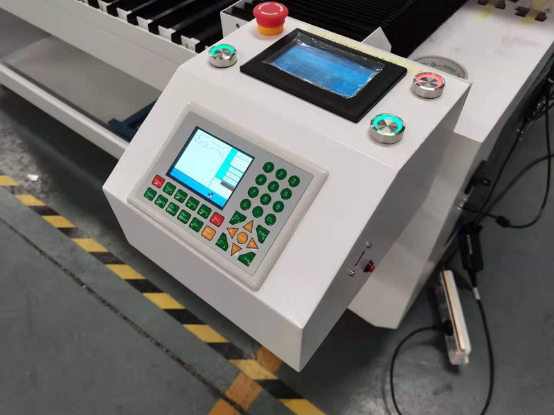 control panel of 1325 laser cutter