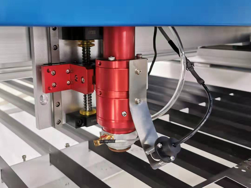 mixed laser head of 1325 laser cutter
