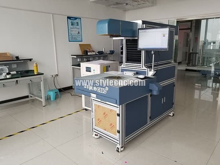 CO2 3d dynamic laser marking machine for Greeting card projects