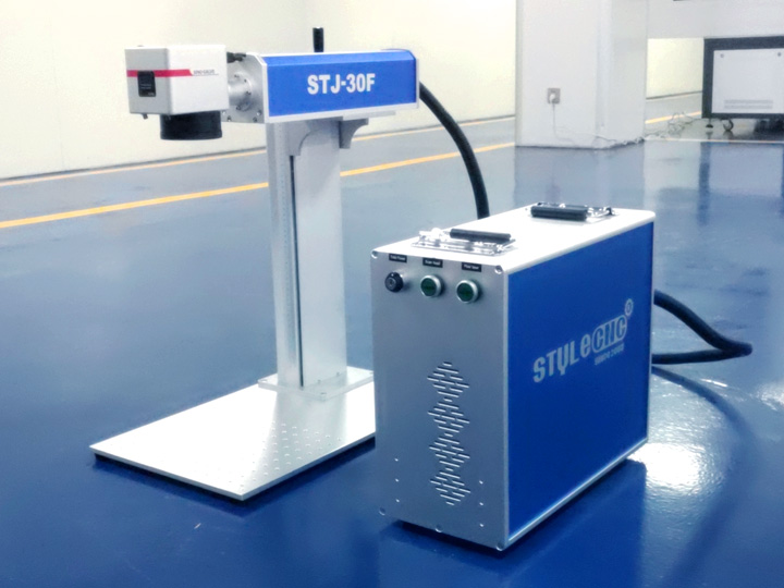 Fiber laser marking machine for sign marking