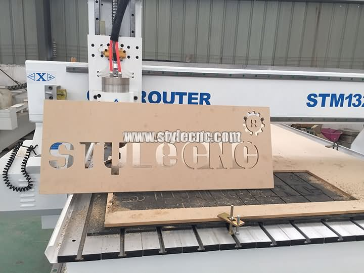Wooden signs making by CNC router machine