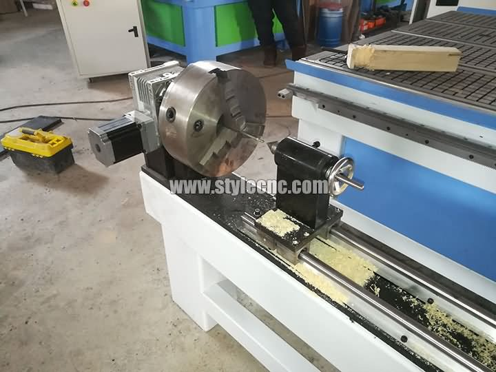 4 axis rotary device