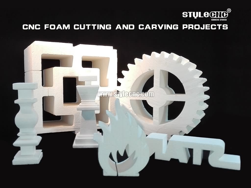 2D/3D CNC foam router projects