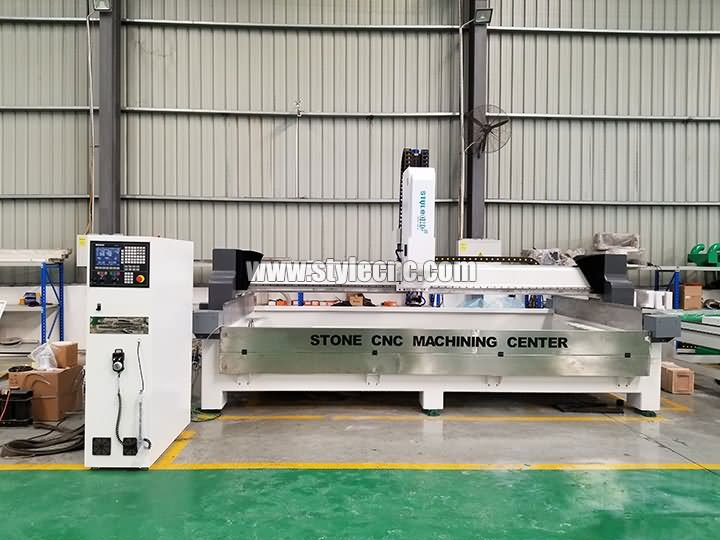 stone CNC machining center for processing wash basin