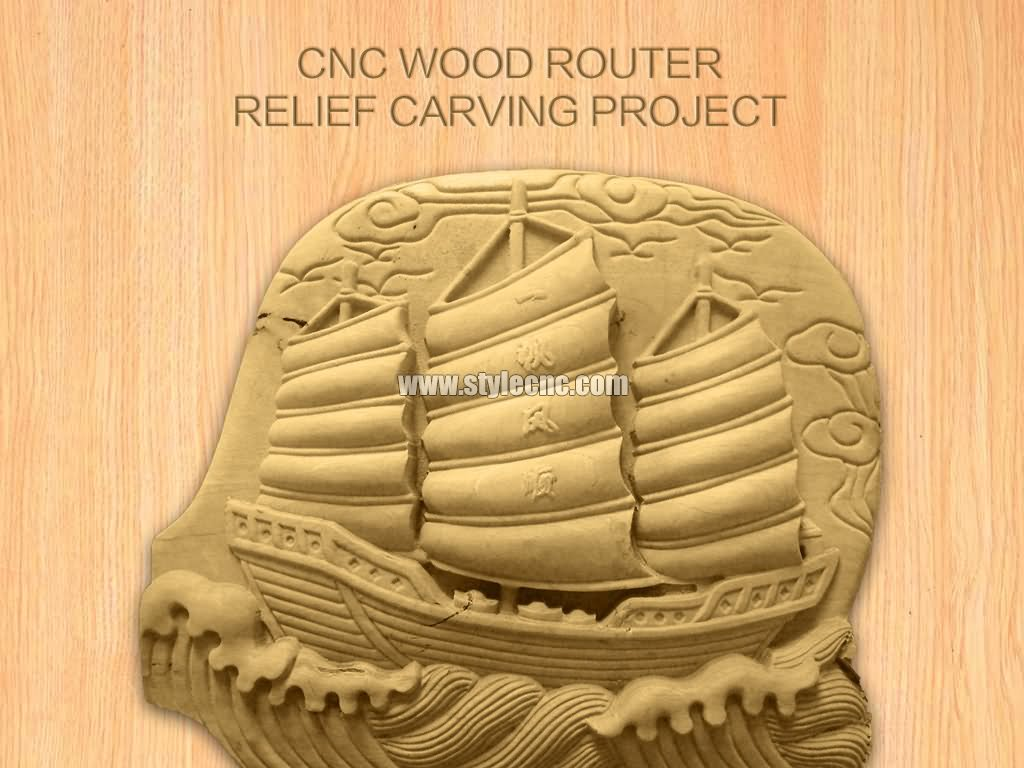 Cnc wood router for relief carving projects
