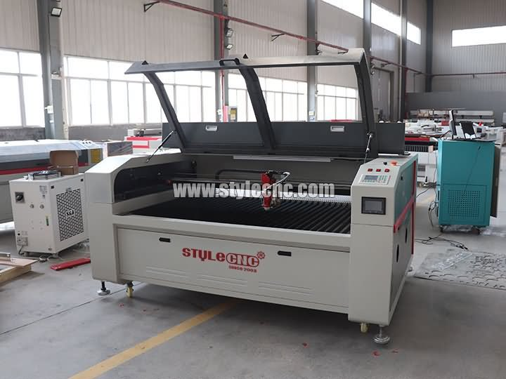 1600*1000mm 280W mixed laser cutter for cutting 25mm acrylic