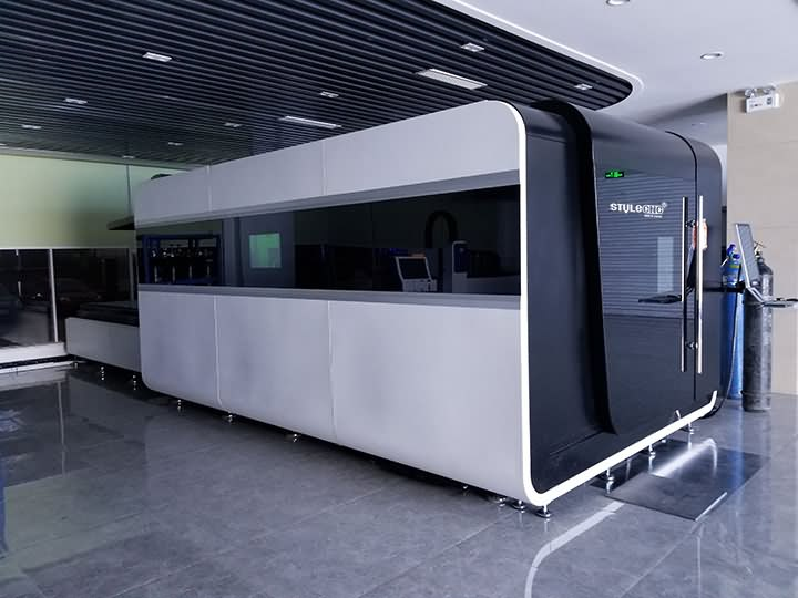 4000W fiber laser cutter systems with IPG laser source