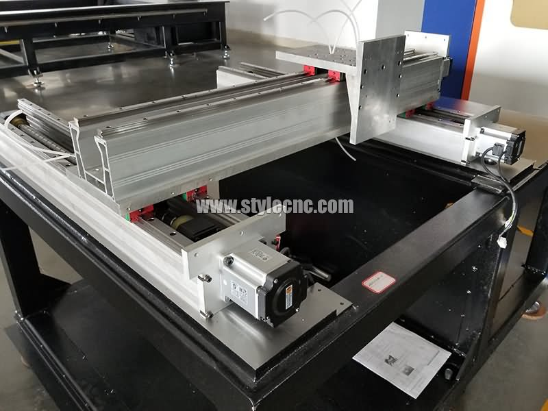 metal laser cutter double driving system