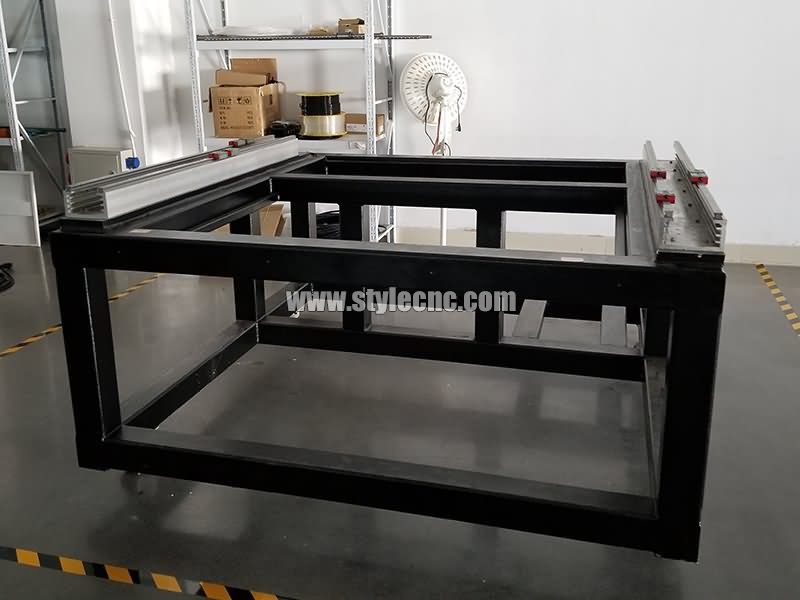 metla laser cutting machine body