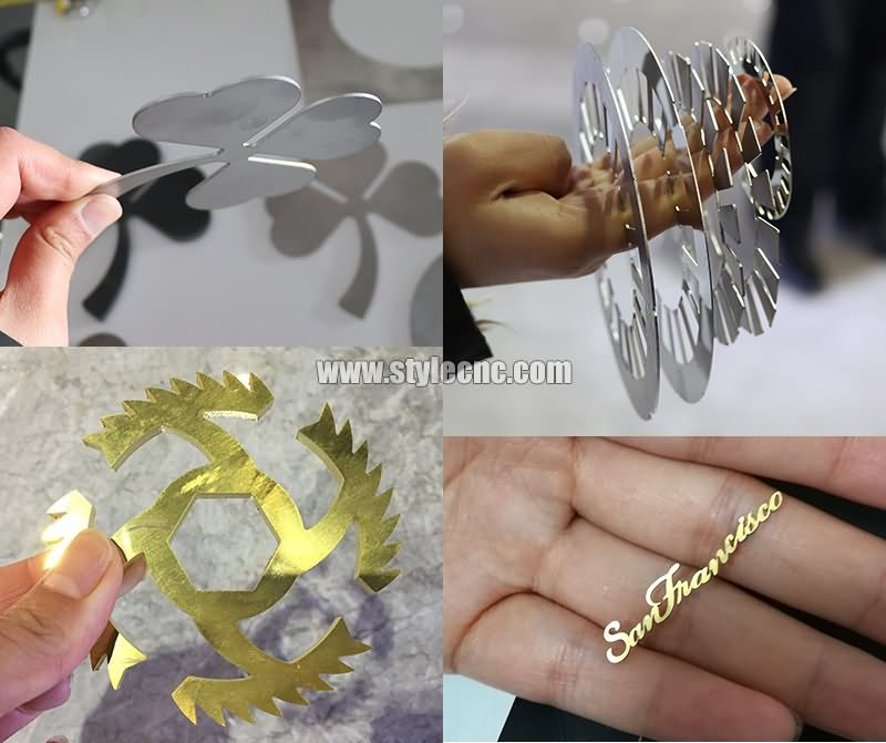 Metal laser cutter projects