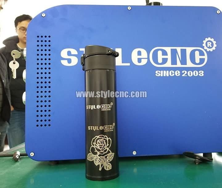 Samples of 3D fiber laser marker