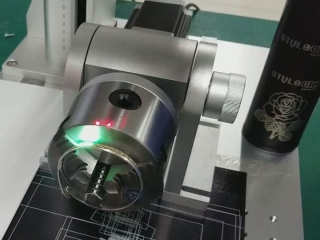 3D fiber laser marker for deep marking on sliver bracelet