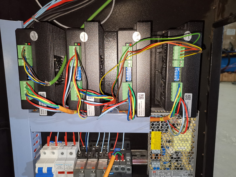 Driving system of Hypertherm plasma cutter