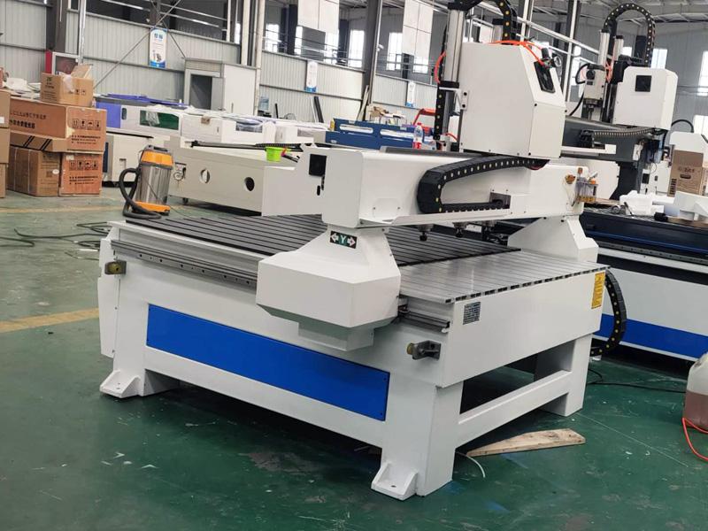 4 heads CNC woodworking machine