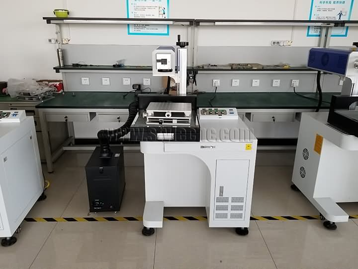 coconut laser engraving machine with co2 galvo laser head