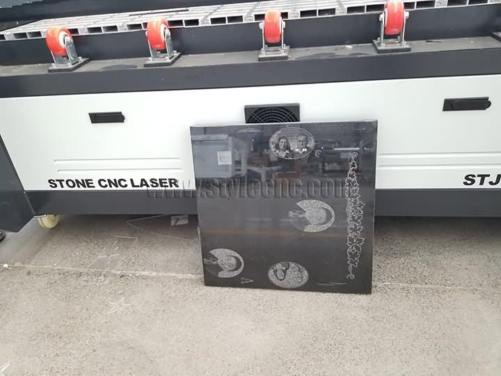 tombstone photos laser engraving samples