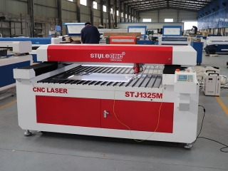 Two sets wood and steel laser cutting machine shipped to Oman