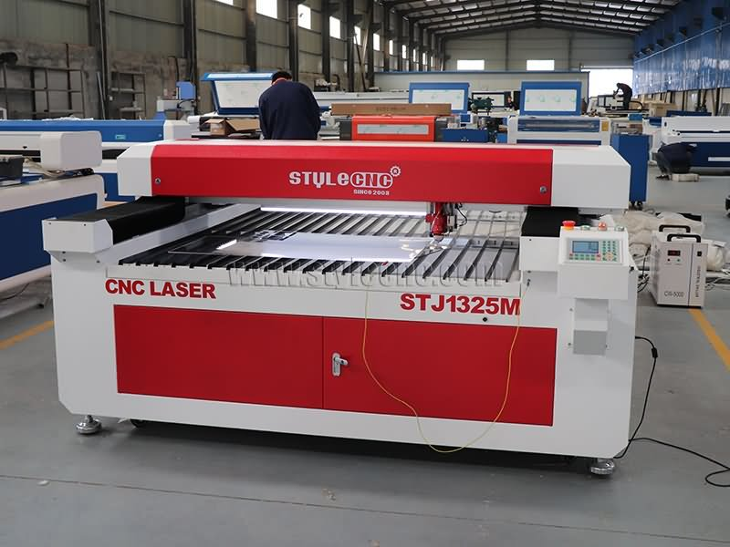 STJ1325M mixed laser cutting machine