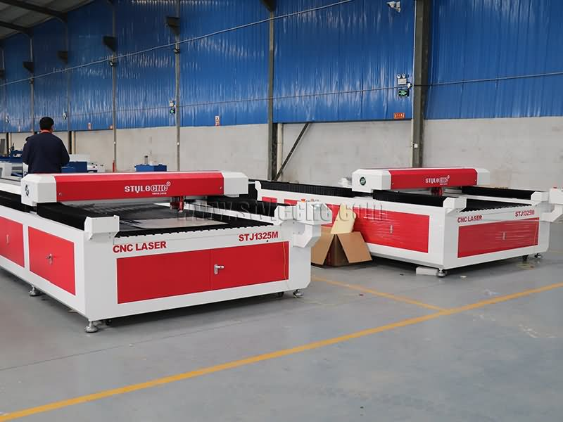 Oman mixed wood and steel laser cutting machine