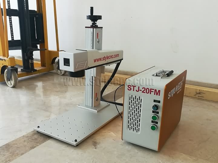 The Netherlands Color laser engraving machine