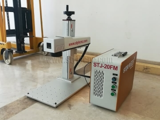 Color laser engraving machine shipped to The Netherlands