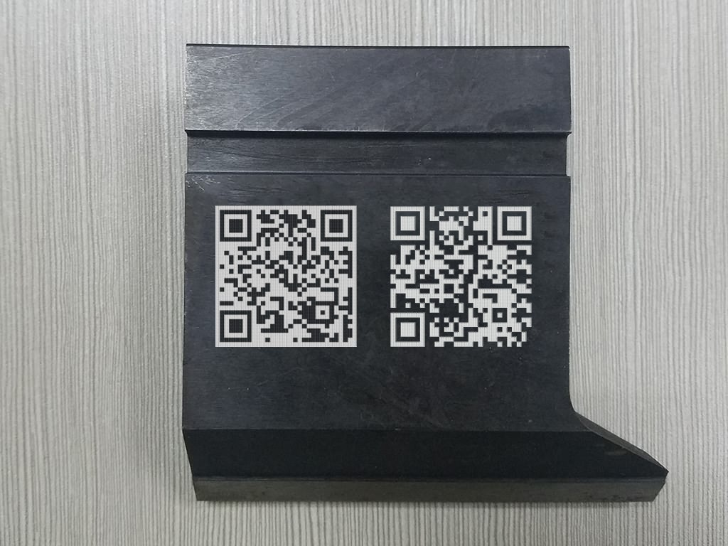 QR Code Laser Marking Machine Projects