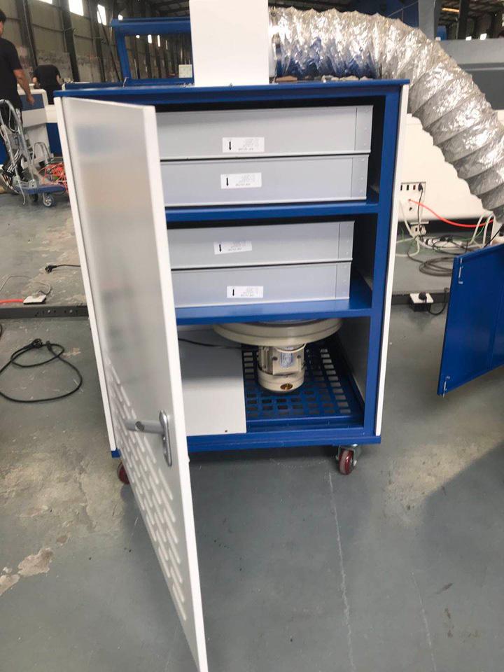 Air filter for laser cutter