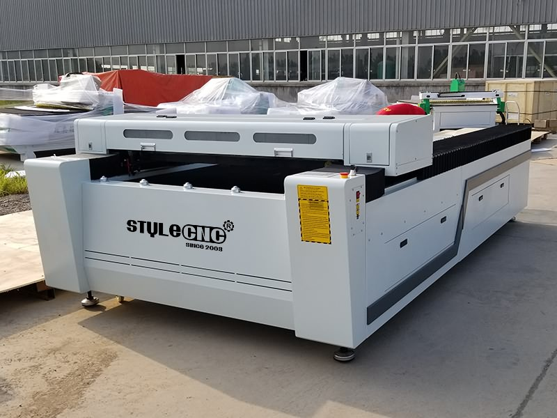 The First Picture of 300W CO2 Laser Cutting Machine for sale with affordable price