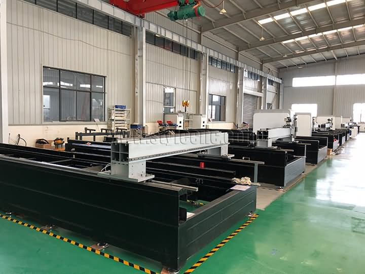 exclusive annealing processing fiber laser cutting machine bed