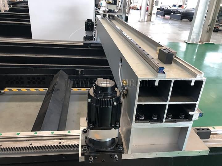 aircraft-grade aluminum casting gantry