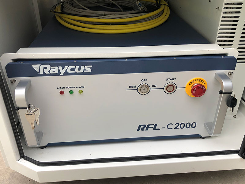 Chinese Raycus laser source 2000w