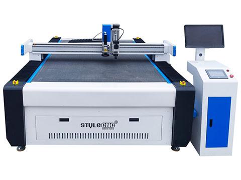 CNC gasket cutting machine with pneumatic oscillating knife cutter